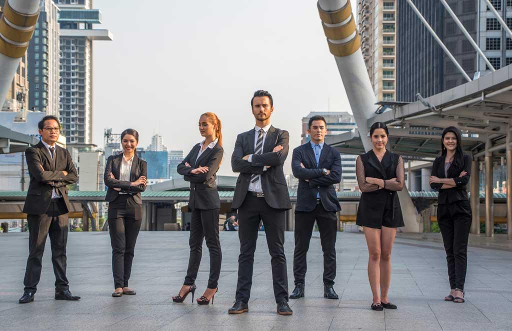 Uniformes empresariales: imagen de la empresa